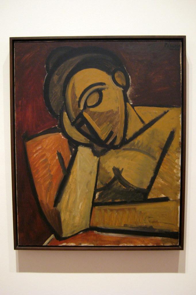 NYC  MoMA Pablo Picassos Repose  Repose spring 1908 Oi  Flickr