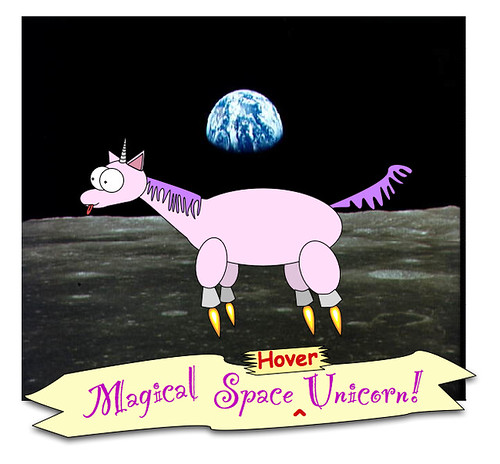Magical Space Hover Unicorn The Katness Asked Me To Draw