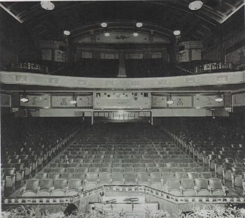 Astoria Theatre Charing Cross Road London  A view of