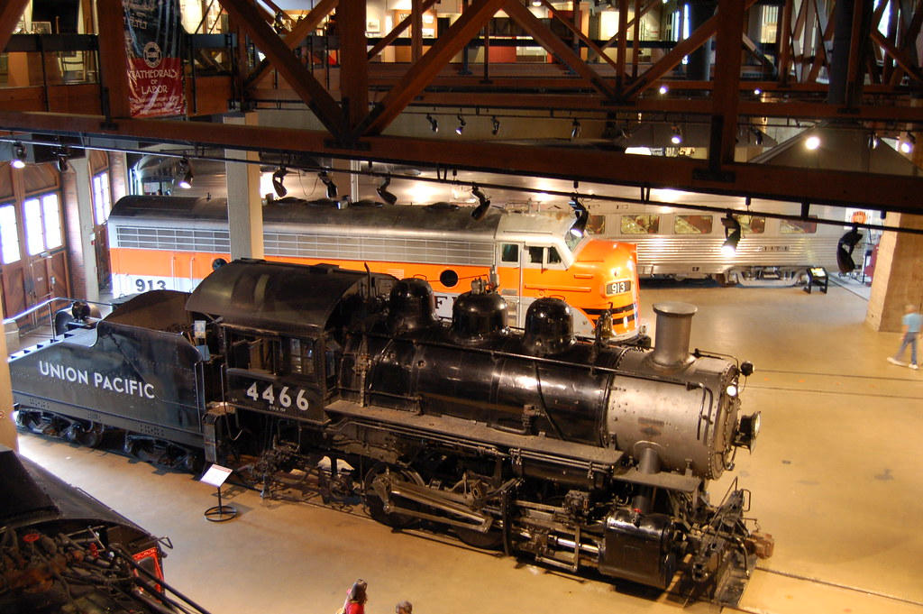 California State Railroad Museum  View of the main floor