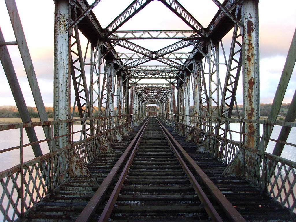 old red iron bridgeWaterford  waterford to cork line