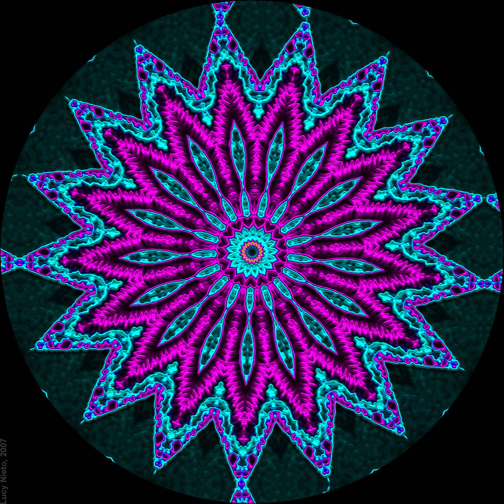 Neon Wallpaper Hd Filigrana De Ne 243 N 5320 Mandalas Generadas Con Kaleider Y