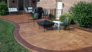 Stained Concrete Patio For Information On How To Do Your