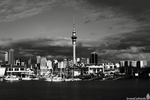 Auckland City Black  White  Jovana  Flickr