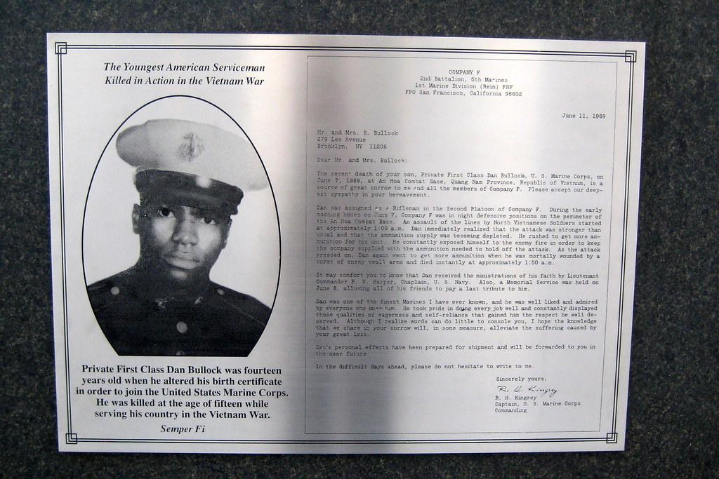 NYC Vietnam Veterans Plaza Private First Class Dan Bul