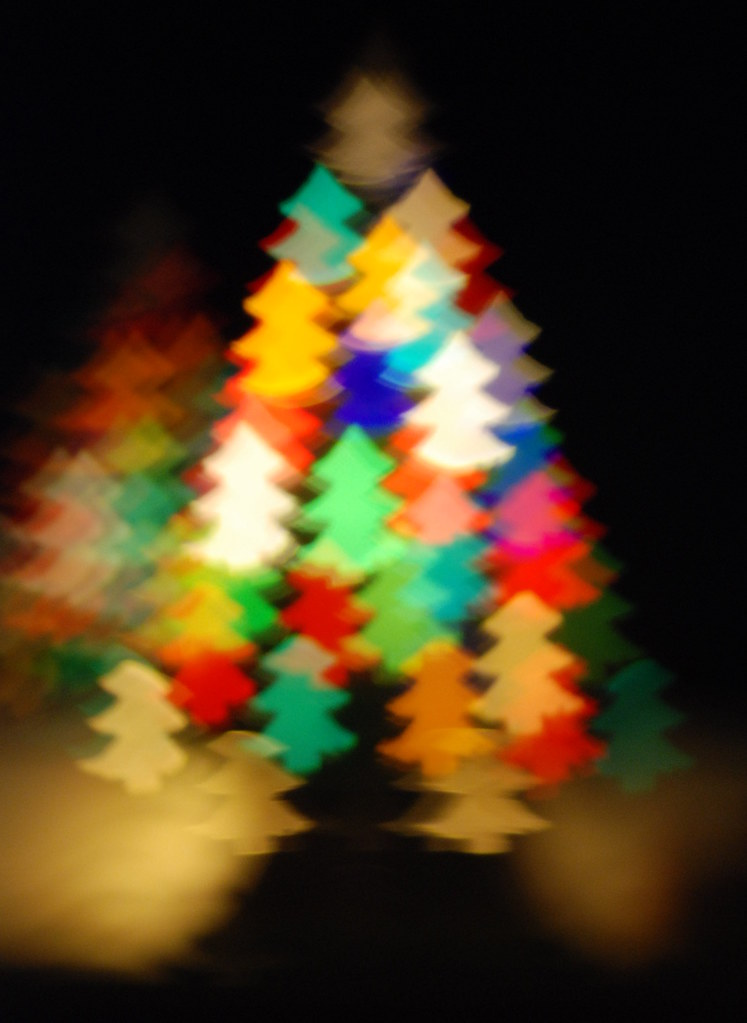 Christmas Tree Bokeh 2 This Image Has Some Rights