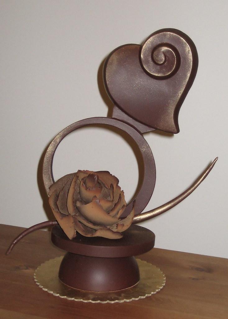 Chocolate Sculpture Donna Martin Flickr
