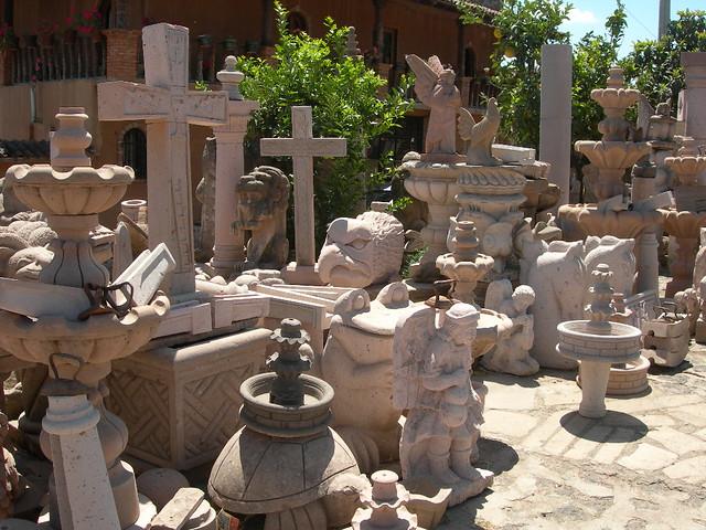 Artesania en Cantera  piedra que se encuentra en Michoacan   Flickr