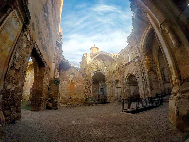 Iglesia del monasterio de Piedra
