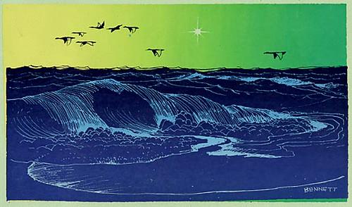 Elton Bennett Hoquiam Washington Christmas Card Design