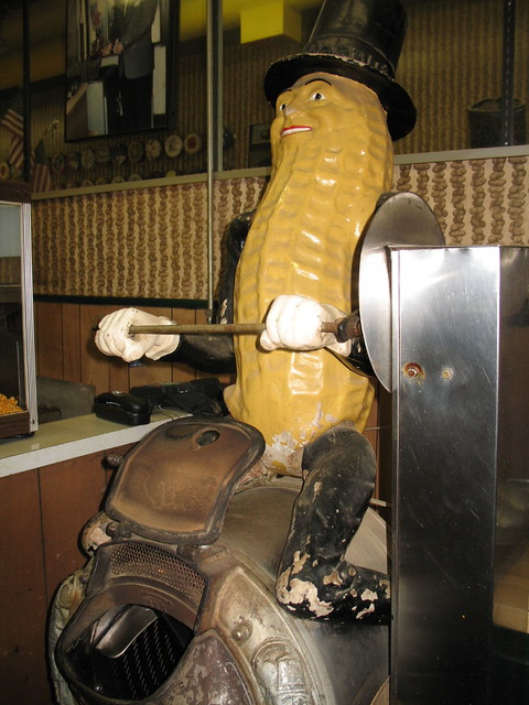 Mr Peanut  maybe this was used to make peanut butter at