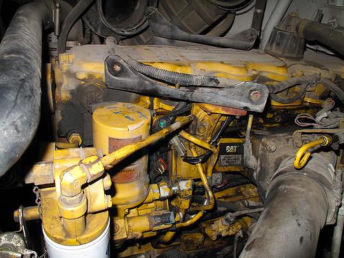 Cat C7 Wiring Diagram A Caterpillar 3126 Diesel Engine In The Shop To Repair A O
