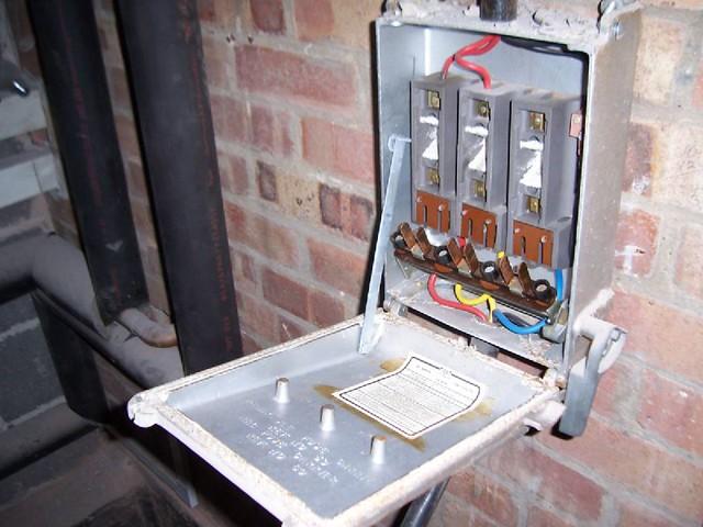 Fuse Fuse Box Fuse Box With Asbestos Woven Chrysotile Asbestos Flash