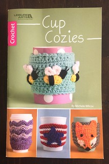 Free Crochet Pattern cup cozy and book review from Karla's Making It www.karlasmakingit.com