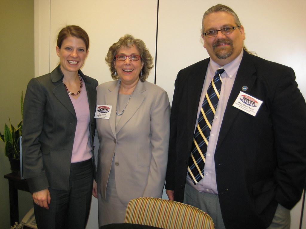 Meeting with Senator Klobuchars staff  Left to right
