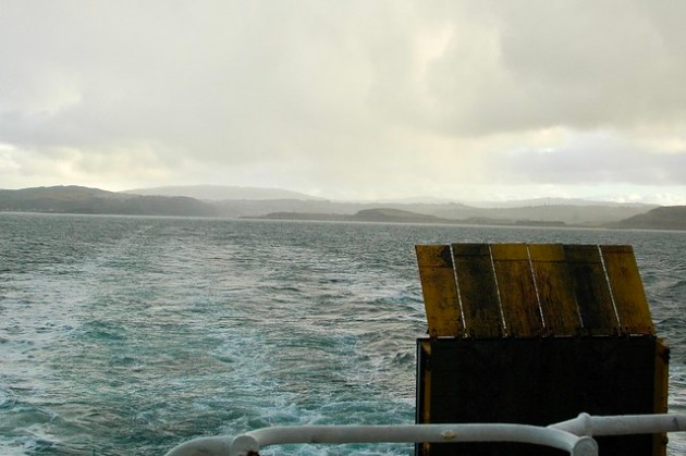 Calmac Ferry to Isle of Mull