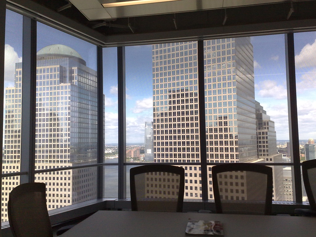 View from Fast Company's office in World Trade Center