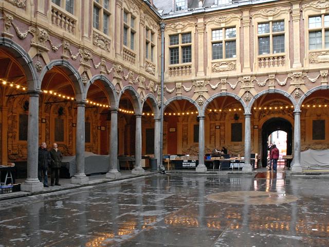 La cour intrieure de la Vieille Bourse Lille  La Vieille   Flickr