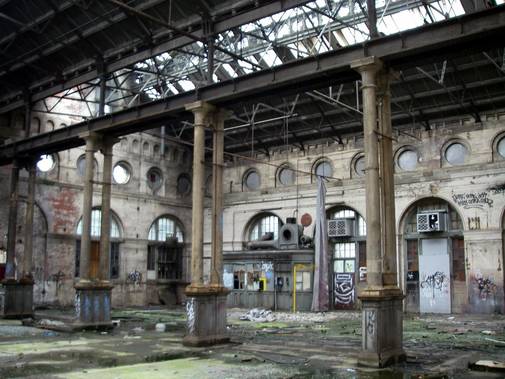 Leith Tram Works Interior  This incredibly beautiful brick  Flickr