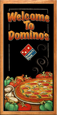 Dominos Pizza Brochure Cover  Claire Watson  Flickr