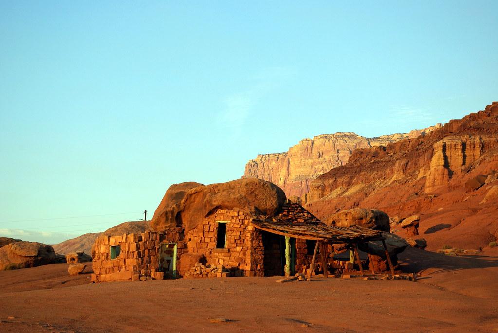 Stone House Vermilion Cliffs Arizona  Around 1927