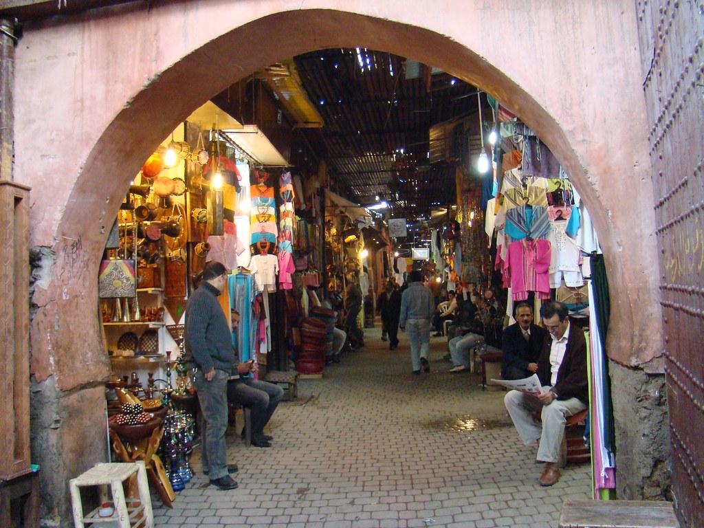 Marruecos Medina de  Marrakech 69