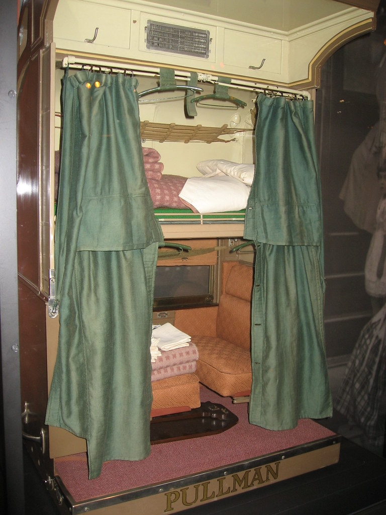 Interior of Pullman Palace Car  Quarterscale working