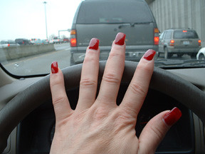 redacrylicnails  A day trip to Seattle I got caught in