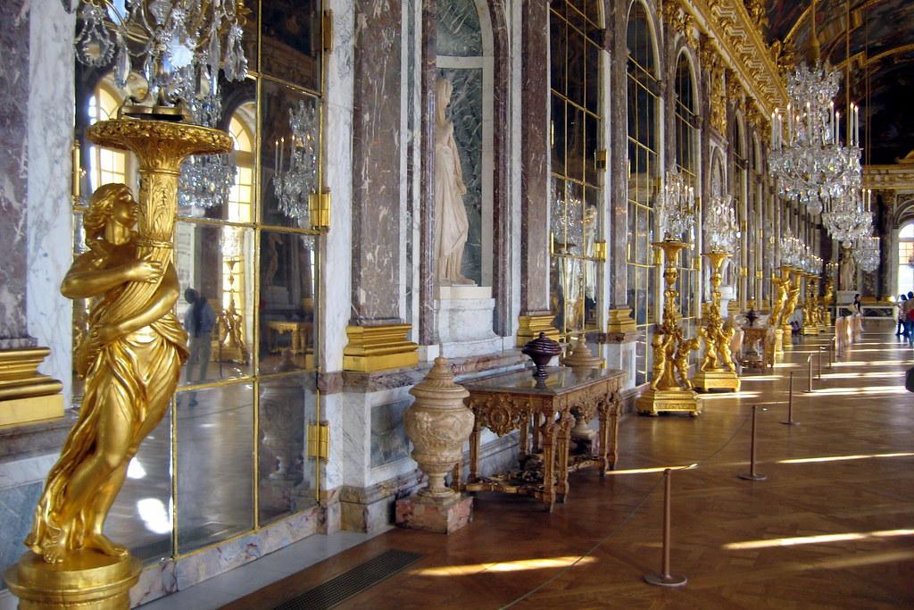 Versailles Chteau de Versailles  La Galerie des Glaces
