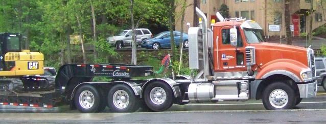 Mack Titan Lowboy Tractor