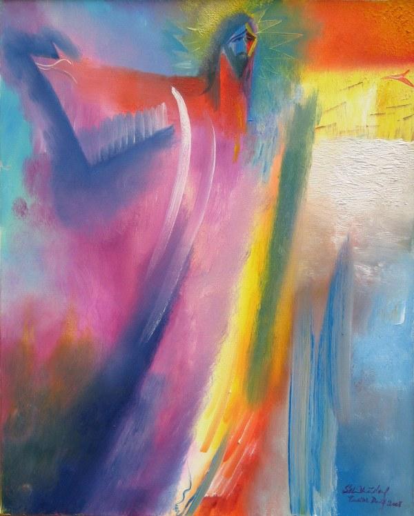 Jesus Christ Resurrection Painting