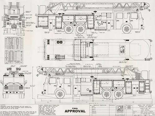 2013 Spartan EMFD / Smeal 125' Aerial Ladder Fire Truck