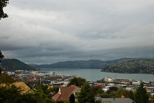 Dunedin from Dianas living room 6 April 2008  Phillip