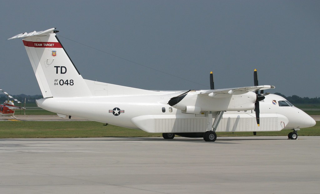 de Havilland Canada Dash 8 E9 Widget  840048 USAF