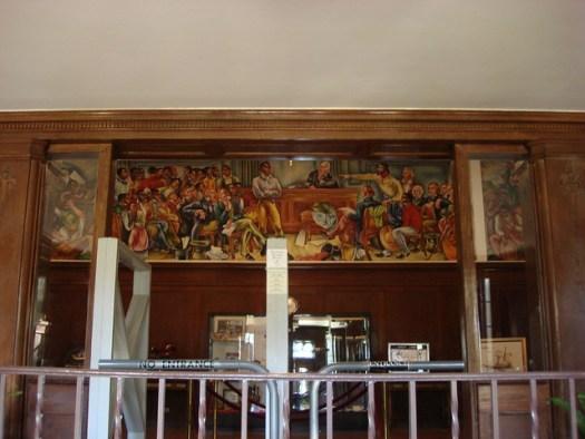 Amistad Mural, Talladega College, Talladega AL