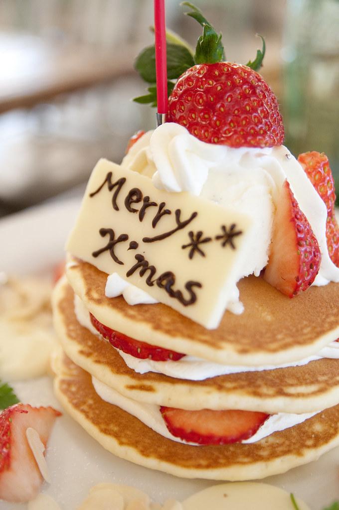 Christmas Pancakes JS Pancake Cafe Aoyama