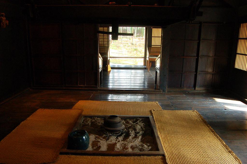 Shirakawa Go House The Hearth In The Shirakawa Go House