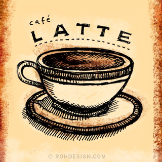 Square 3d Wallpaper Latte 320x320 Wallpaper A 320x320 Illustration From