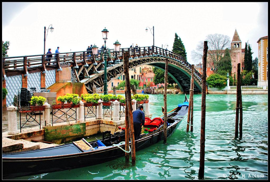 Venecia Italia Puente de la Academia  El Puente de la A  Flickr