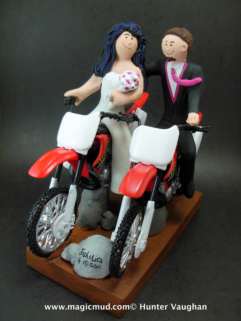 Honda Dirt Bikes Wedding Cake Topper Wwwfacebookcom