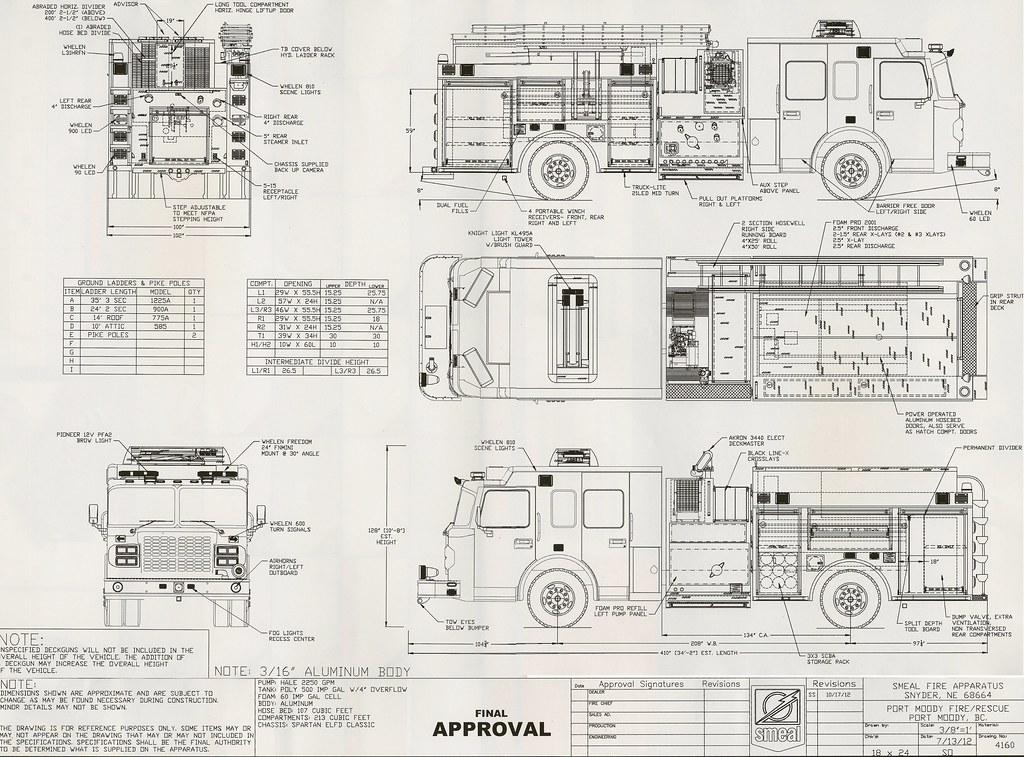 2013 Spartan ELFD Classic / Smeal (1750/500/60A) Pumper Fi