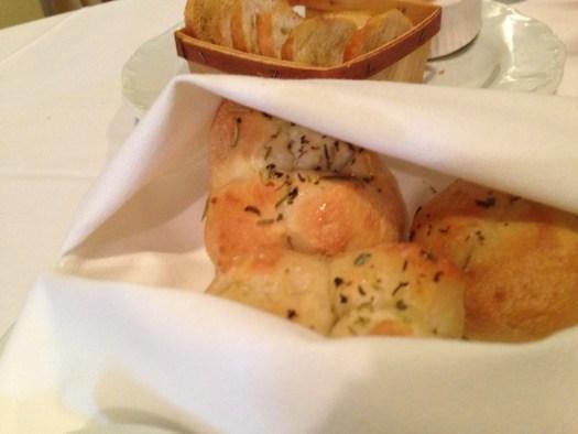 Bread Service at La Provence, Lacombe LA