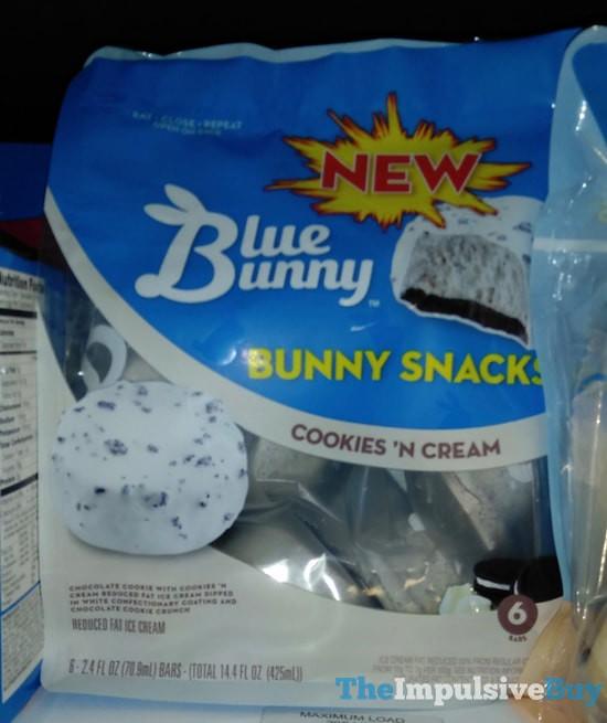 Blue Bunny Cookie n Cream Bunny Snacks  theimpulsivebuy