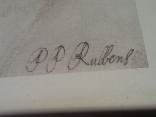 060611135132 Peter Paul Rubens Signature On Lower Right