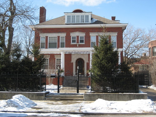 Barack Obamas house  He lives in Kenwood the neighborhoo  Flickr