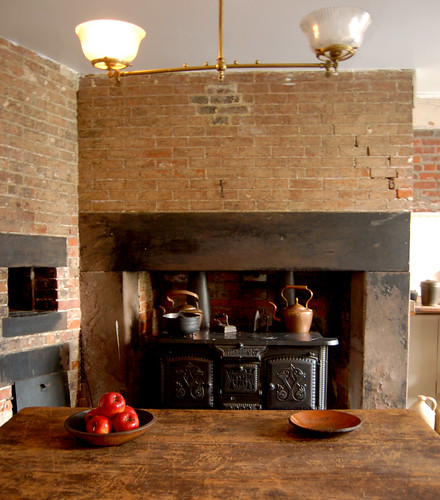 19th century kitchen  The Merchants House Museum is a