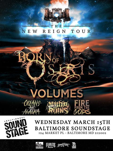 Born Of Osiris at Baltimore Soundstage