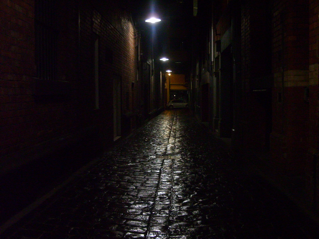 Creepy Little Girl Wallpaper The Dark Alleyway Up Near Lonsdale Street There Is A