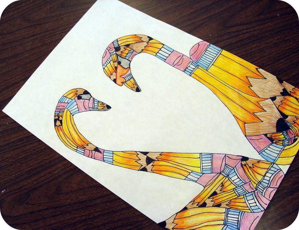 No 2 Pencil Transformation Student Work