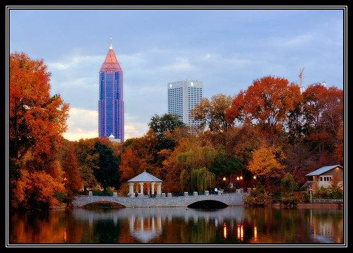 Fall In Love Mobile Wallpaper Fall Colors At Piedmont Park Atlanta Ga Jay Waldron